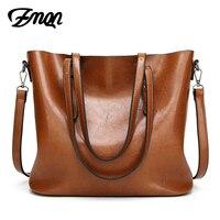 ZMQN Women Tote Bag For Women Handbags Oil Wax Leather Retro Vintage Style High Grade Crossbody
