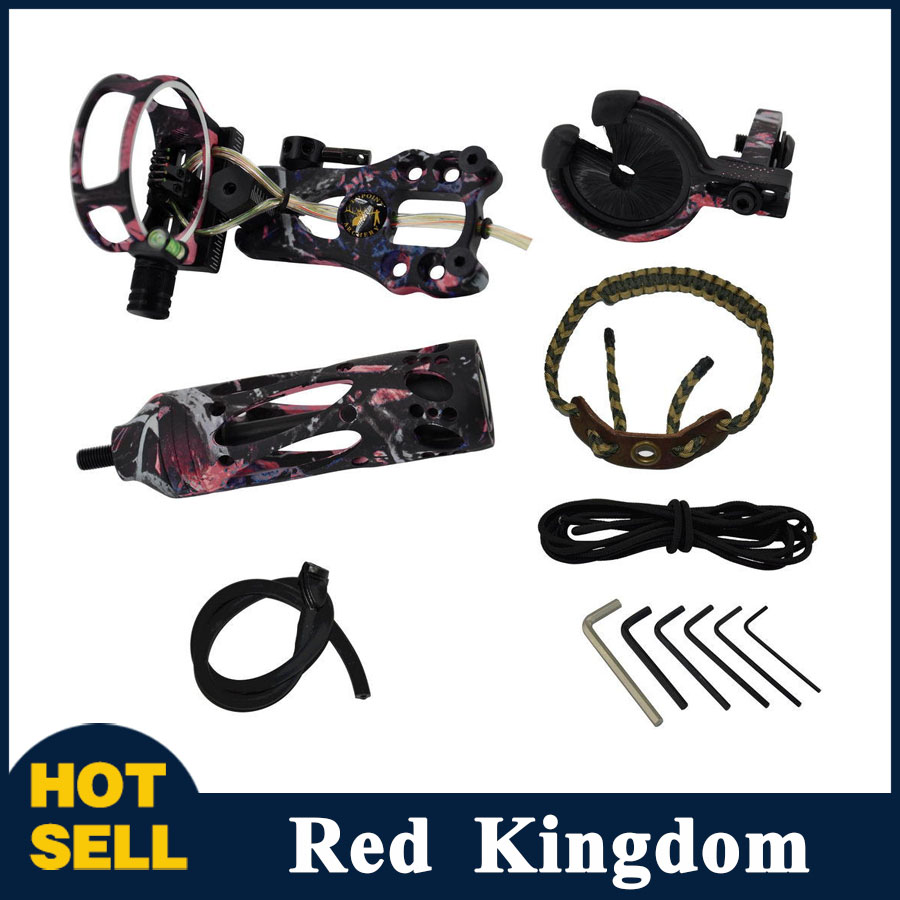 New Archery Upgrade Combo Compound Bow Accessories with Bow Sight Arrow Rest Stabilizer or Compound Bow Hunting Shooting цена и фото