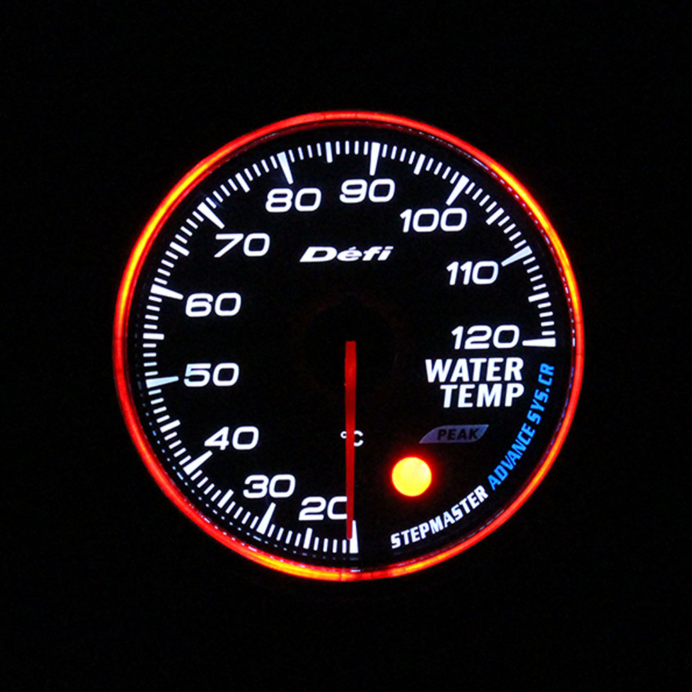 Image 2 - Defi CR 2,5 дюймов 7 цветов датчик давления масла вольт температура воды Масляный Пресс RPM Boost Turbo EXT Температура топлива пресс Автомобильный Автоматический Датчик-in Датчики температуры воды from Автомобили и мотоциклы