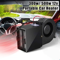 12V PTC 300W/500W Adjustable Auto Fast Ceramics Heater Defroster Car Heating Machine XR657