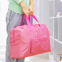 купить Thickened Portable Folding Multipurpose Travel Bag Waterproof Storage Sorting Bag Quality Oxford cloth по цене 1069.17 рублей