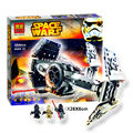 354pcs Bela 10373 Star Wars The Force Awakens TIE Advanced Prototype Building Blocks Toys Gifts Compatible