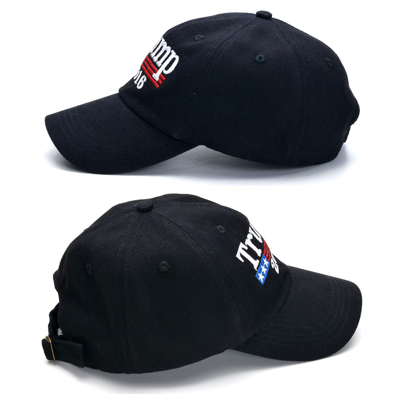 New trump 2016 make america great again donald hat daddy cap us republican black baseball caps