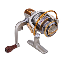 5.1:1 8 Ball Bearings Fishing Reels Metal Spinning Foldable Hand Exchangable Fresh/Salt Water Bait Casting Fishing Reels