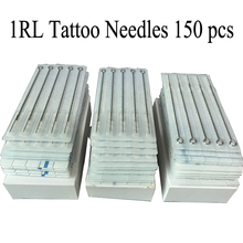 150pcs Professional Tattoo Needles 1RL Disposable Sterilze Tatoo Needles 1 Round Liner Needles To Tattoo Supplies