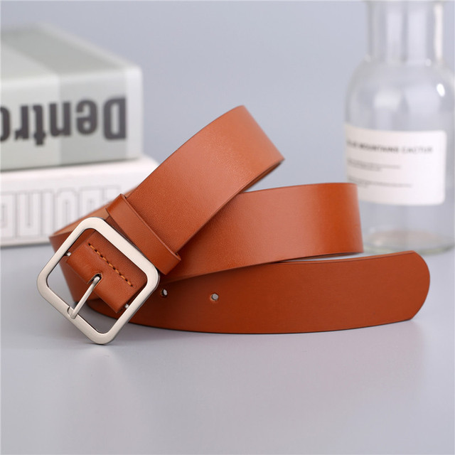 Japanese pin buckle decoration elegant simple wild student retro jean belts 2