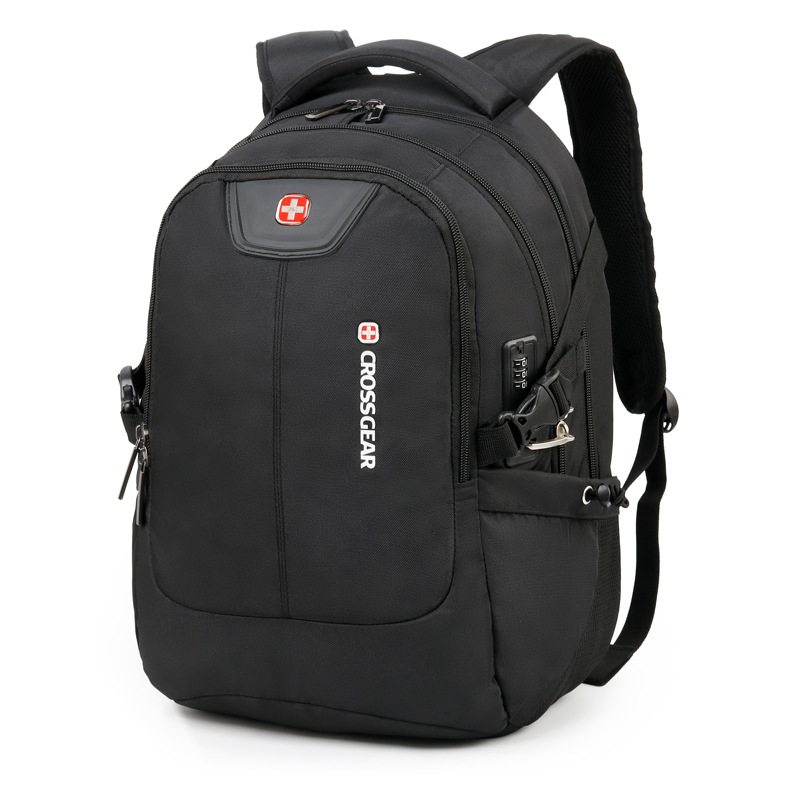 Laptop Backpack Swiss Usb Anti Theft 17 Inch Computer Bag Men Backpack Multifunctional Boy Backpack Male Backpack Female Bag