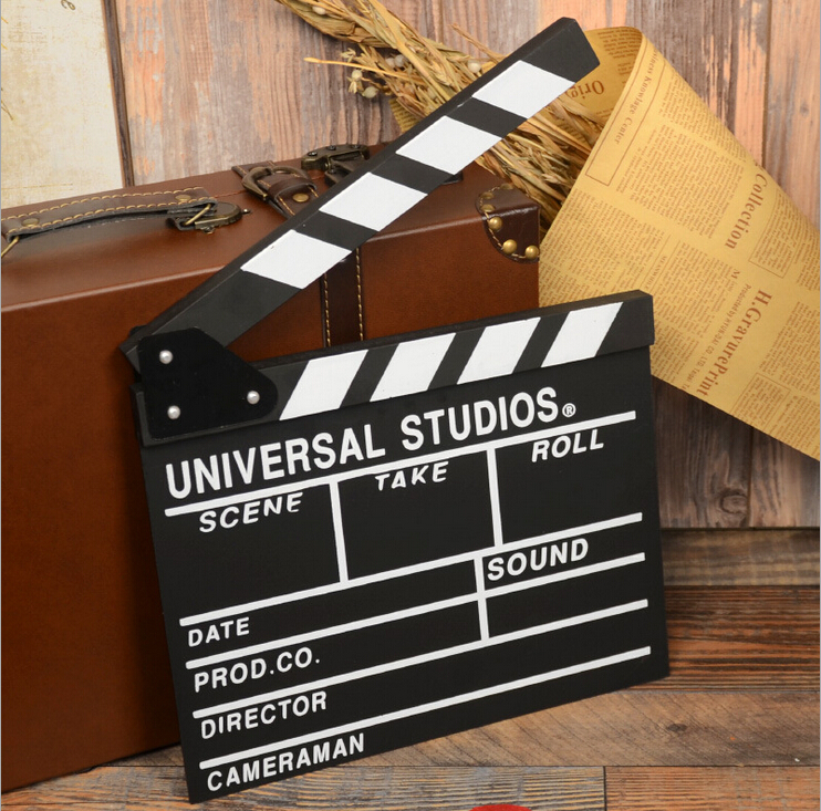 D movie director clapper boards clapperboards plate photography creative camera shooting a small blackboard props