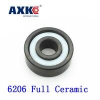 2018 Real Rodamientos Axk 6206 Full Ceramic Bearing 1 Pc 30 62 16 Mm Si3n4 Material