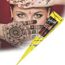 Хна конусы индийская Хна тату паста для Временной Татуировки боди-арт стикер Менди краска для тела