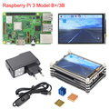 Raspberry Pi 3 B+ Plus Starter Kit Raspberry Pi 3 + 3.5 inch Touchscreen + 9-layer Acrylic Case + 2.5A Power Supply + Heat Sink