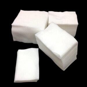 Image 5 - 900Pcs/set Lint Free Nail Napkins Nail Remover Wraps Manicure Gel Nail Polish Remover Wipes gel nagellak remover Lint Free Wipes