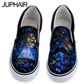 JUP  Hand-Painted Canvas Shoes Men Mans Cat Mouse Spider Clip Superman Moustache Cartoon Fashion Low Flat Footwear For Boy Girl