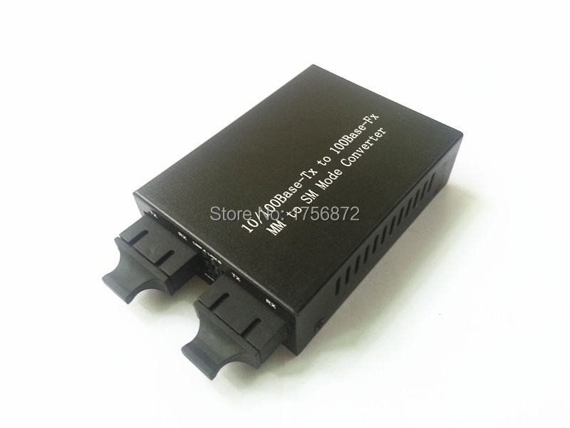 155M Single-Multimode Converters og Fiber Repeater enkelt / multimode fiber MM til SM Mode Converter