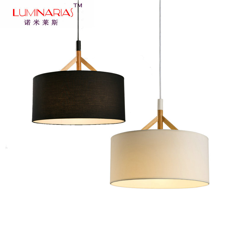 все цены на [TIANSHENG] Fabric Shade Nordic Home Pendant Lamp Living Room Study Room Dinning Room Pendant Light Cafe Bar Lighting E27
