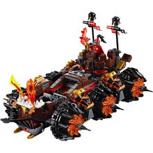 LEPIN 14018 Nexus Knights Siege Machine Building Blocks Bricks Toys Compatible with legoed 70321 City 3D Children Educational