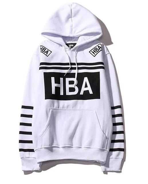 hba hoodie exo sweatshirt winter fleece hoodies men women hip hop streetwear sweat veste hood by air trasher hoodie