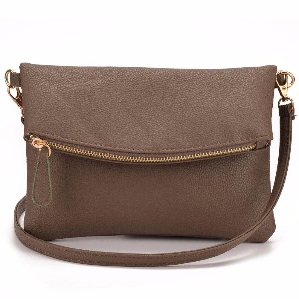 JIARUO Small Leather Crossbody Bag For Women Messenger Bag Shoulder ... 1e94b2d14b106