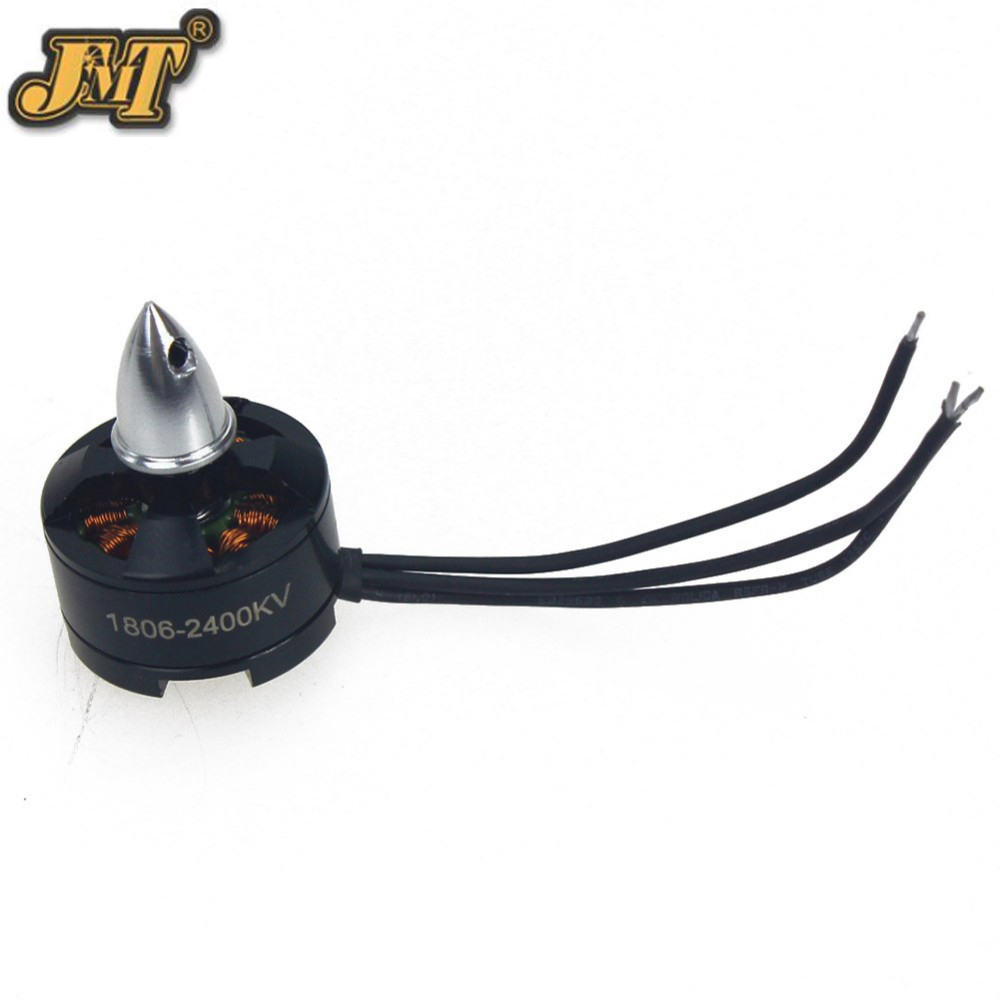 JMT 1806 2400KV Clockwise CW CCW Brushless Motor Mini Multi-rotor Motor for 250 Across FPV 260 RC Quadcopter Aircraft lhi fpv 4x mt2206 2300kv cw ccw fpv brushless motor 2 4s 4 pcs racerstar rs20a lite 20a blheli s bb1 2 4s brushless esc