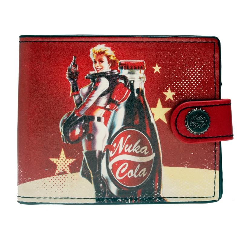 Fallout Nuka cola กระเป๋าสตางค์ Nuka สาวกระเป๋า DFT-3042