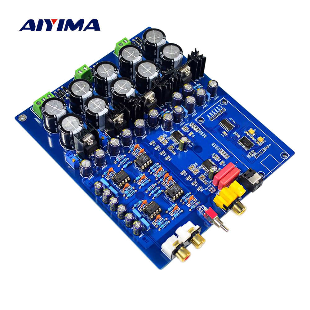 Unterhaltungselektronik Ak4113 Dac Decoder Unterstützung Faser Koaxial Decodierung Bord Diy Für Power Verstärker Lautsprecher Amplificador Produkte HeißEr Verkauf Heim-audio & Video Ehrlich Aiyima Dual Chip Ak4396vf