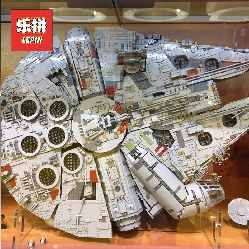 Lepin 05132 8445Pcs Star Plan Wars Force Awakens Model Millennium Falcon Star Destroyer 75192 Building Blocks Children Toys конструктор lepin star plan истребитель набу 187 дет 05060