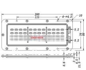 Image 2 - 2 PCS/LOT Diy audio flat monitor HiFi speaker high power ribbon tweeter planar