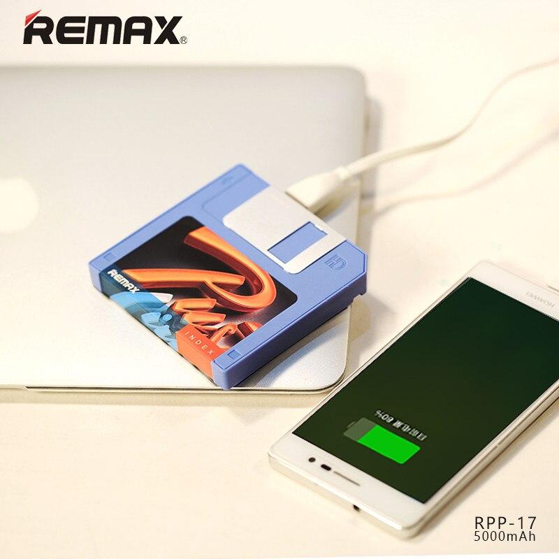 Remax 5000 mah floppy plato de diseño ultra delgado banco de la energía universa