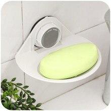 Soap dish brief and fashion magnetic soap holder suction cup soap holder plastic soap dish for bathroom accessories