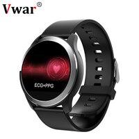 N59 Smart Watch ECG+PPG Heart Rate Blood Pressure Fitness Tracker Watch IP68 Waterproof Smartwatch for Android IOS Phone VS N58