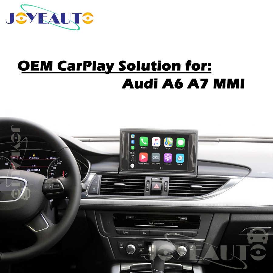 Aftermarket A6 A7 C7 MMI 3G MIB B9 OEM Apple Carplay Android