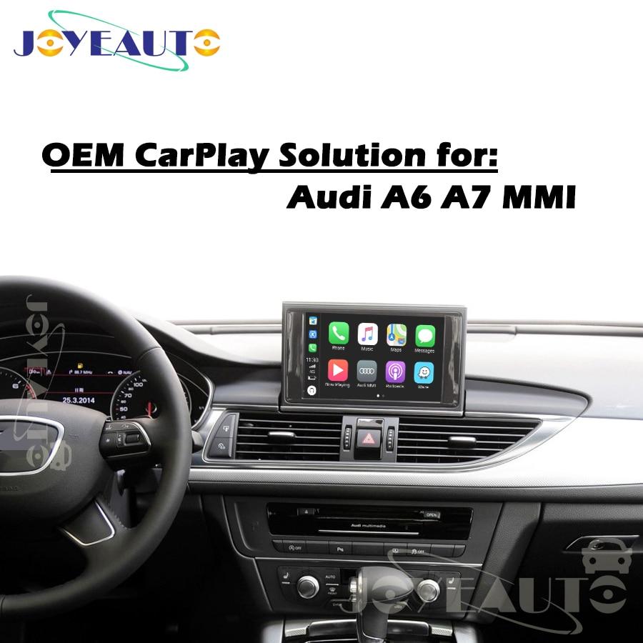 Aftermarket A6 A7 C7 MMI 3G MIB B9 OEM Apple Carplay Android Auto Mise À Niveau 09-17MY IOS Airplay Voiture Jouer rénovation pour Audi