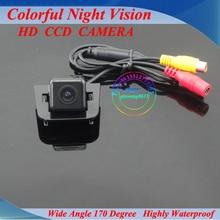 Envío libre! HD CCD efectos! especial del coche cámara de reserva para Toyota Prius con la visión nocturna estupenda
