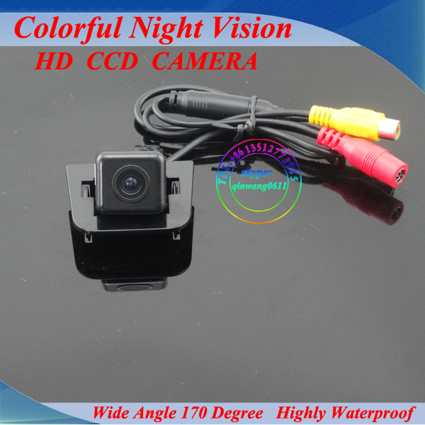 Free shipping!HD CCD effects! Special car backup camera for Toyota Prius with super night vision
