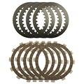 Ремонт высокое качество Привод Сцепления Стальных Пластин и фрикционных накладок Комплект для YAMAHA XV250 XV 250