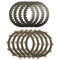 Refit disco de embrague de alta calidad placas de acero y placas de fricción kit para yamaha xv250 xv 250