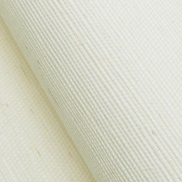 Simple Solide Blanc Couleur Lin Naturel Paille Papier Peint Rouleaux Papier  Peint Conception Simple Pour Chambre