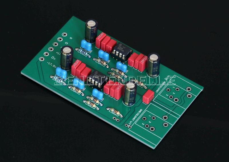 Assemby MBL6010D Balanced To Single ended Module AD797ANZ Preamplifier Board