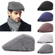 Mujeres Hombres sombrero de la boina de lana de los hombres Retro Luz  Cuerpo delantero sombreros gorras y sombreros fahsion Vent. 6dd272d53a9