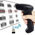 Symcode 1D 2 4G Wireless USB Barcode Scanner mit 100Meter (330ft) Drahtlose Übertragung Abstand usb barcode scanner barcode scannerusb barcode -