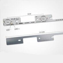 جديد 100 قطعة * 4 المصابيح * 6V شرائط ليد العمل للتلفزيون KDL39SS662U 35018339 KDL40SS662U 35019864 326 مللي متر