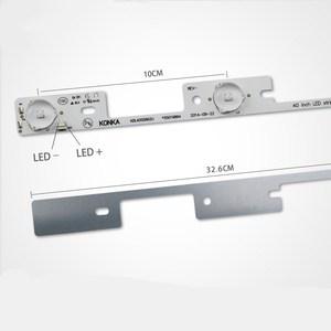 Image 1 - Tiras LED de 6V para TV, 100 unidades, KDL39SS662U, 35018339 KDL40SS662U, 35019864, 326mm