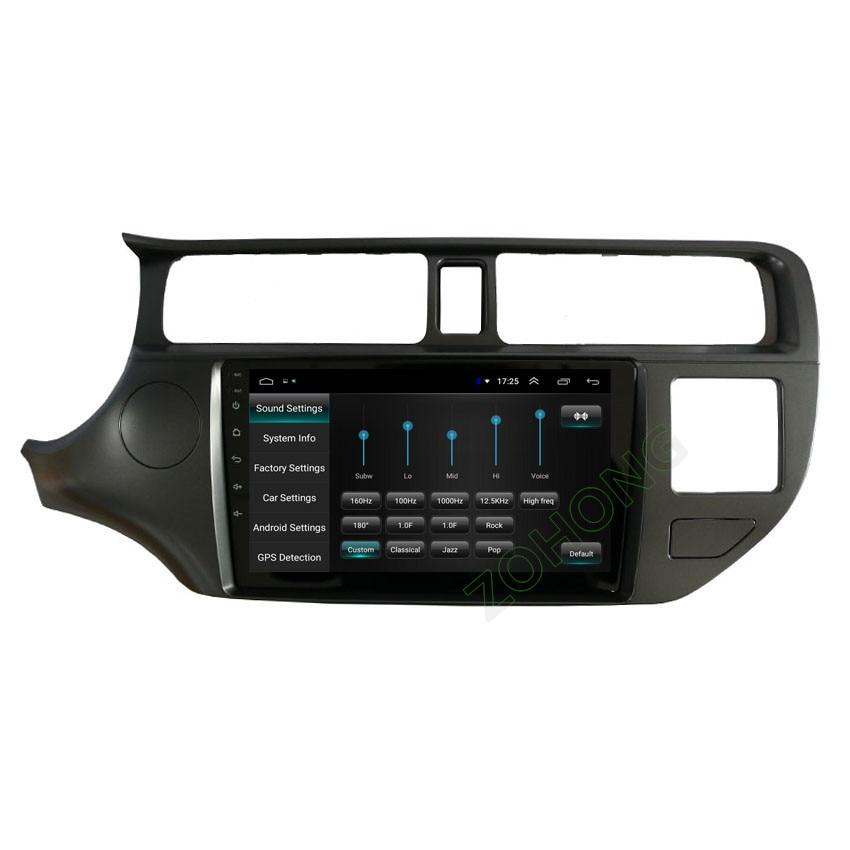 9 inch 2.5D Android 8.1 car radio For Kia K3 RIO 2014 2013 2012 2011 CAR DVD Multimedia Player GPS navigation autoradio BT WIFI-in Car Multimedia Player from Automobiles & Motorcycles    3