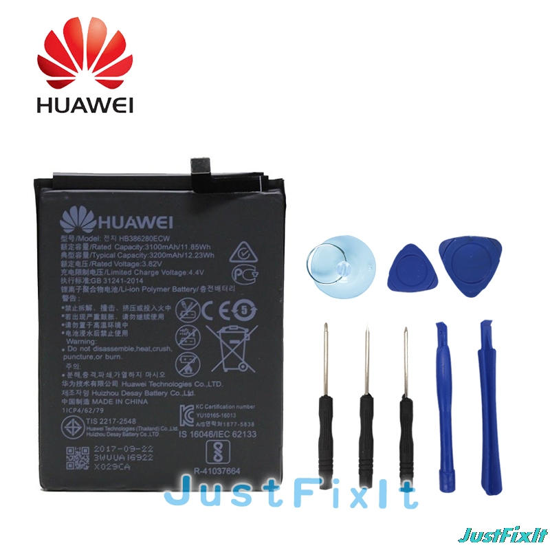 Forceful Hb386280ecw Hua Wei Replacement Phone Battery 3100mah For Huawei Honor 9 Ascend P10 High Quality Batteries Retail Package Cellphones & Telecommunications tools To Suit The PeopleS Convenience