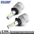 Oslamp H7 LED Car Headlight Bulb 72W 8000lm 6500K Auto Headlamp Fog Light Bulbs for Lada/Toyota/Renault/VW/Hyundai/Kia/Chevrolet