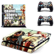 Grand theft auto PS4 Skin Sticker Decal Cover  For Sony PS4 PlayStation 4 Console and 2 controller skins