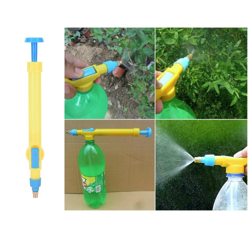 Multifunction Portable Mini Juice Bottles Interface Plastic Trolley Gun Sprayer Head Water Pressure