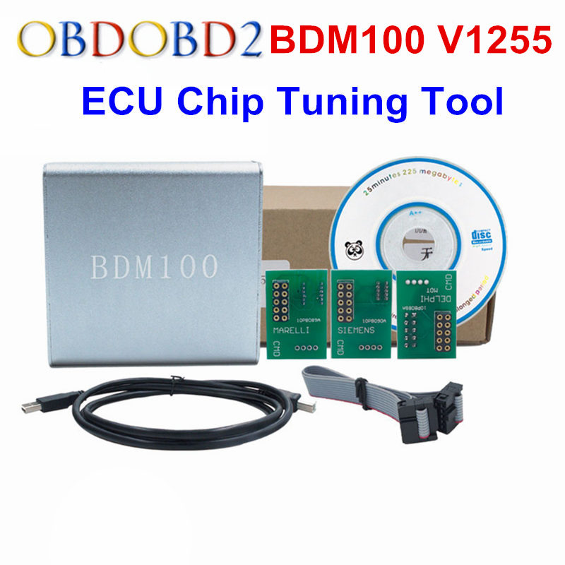A+++Quality ECU Flasher BDM 100 ECU Programmer BDM100 ECU Chip Tuning Tool ECU Reader V1255 Free Shipping