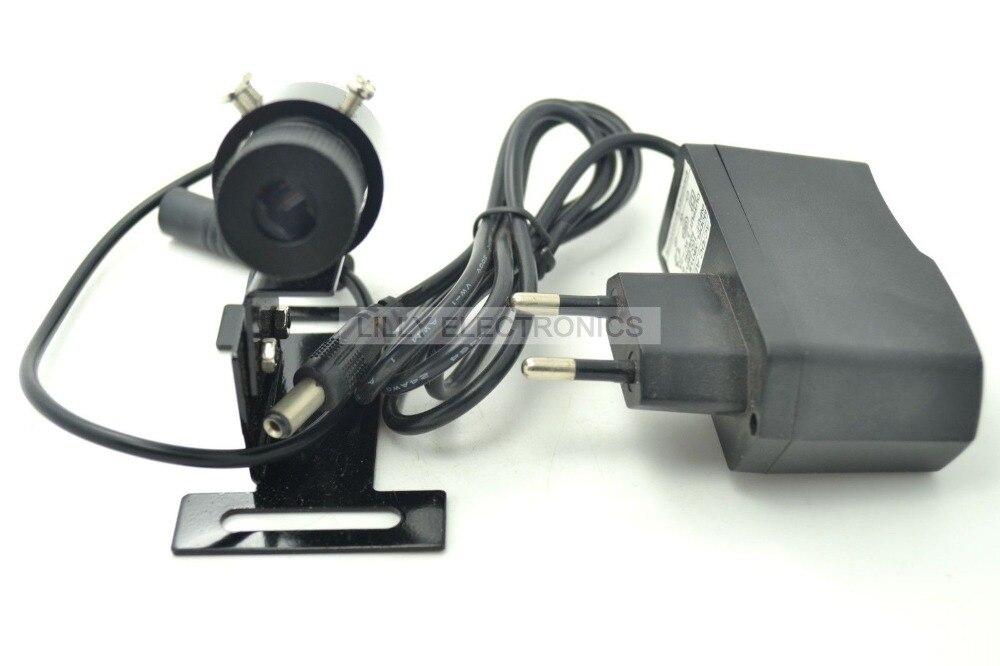 650nm 100 mW Rouge Laser Line Module Locator 22x70mm w/Radiateur et Prise de L'europe Adaptateur