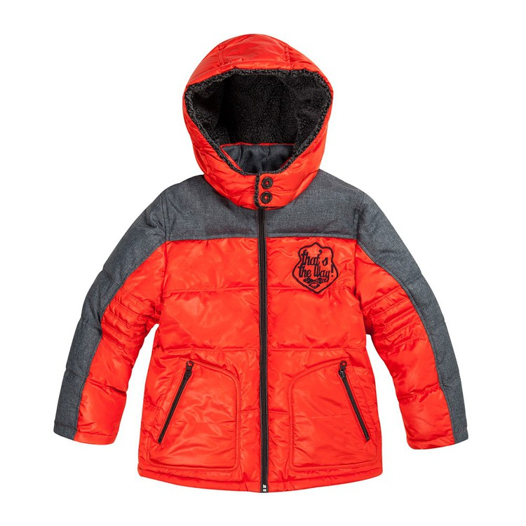 catimini 5-8 year old boys and girls cotton jacket jacket with winter jacket 2 about a boy